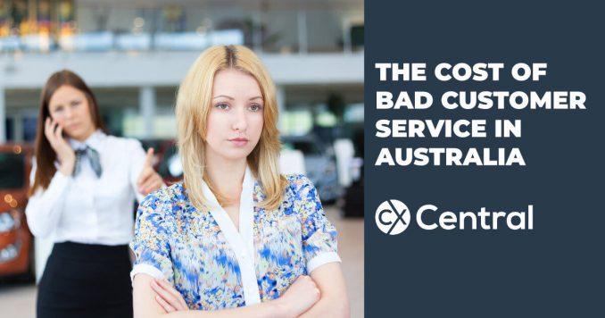 The cost of bad customer service in Australia
