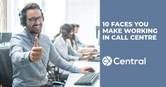 10 faces you make working in a call centre