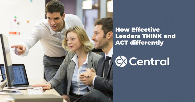 How effective leaders think and act differently