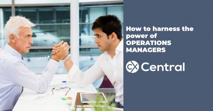 Power of contact centre operations managers