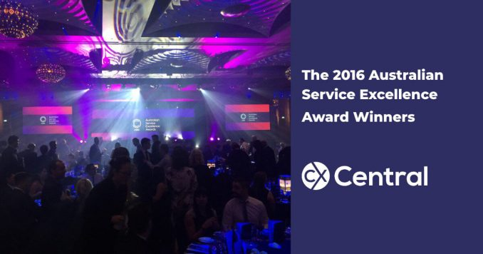 2016 Australian Service Excellence Award Winners