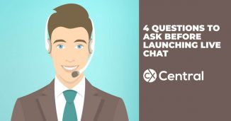 4 Questions to ask before launching live chat