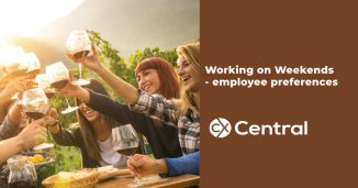 Employee preferences for working on weekends