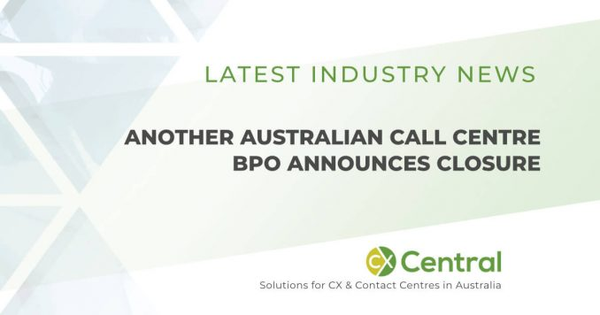 Another Australian call centre closes