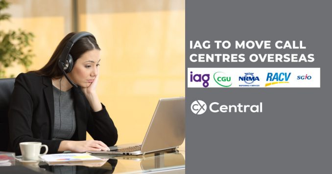 More Australian call centre jobs heading offshore with IAG announces changes