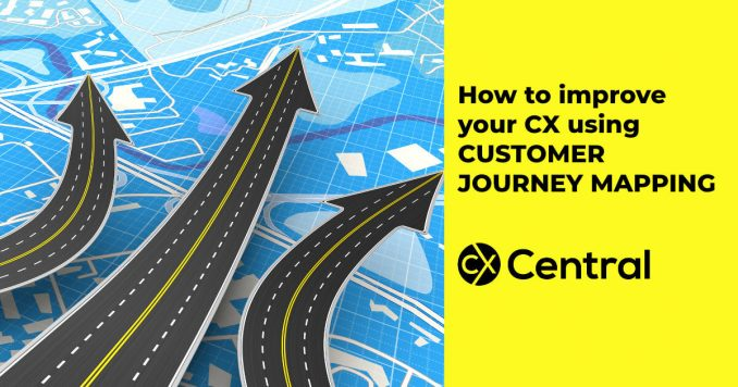 How to improve your CX using customer journey mapping