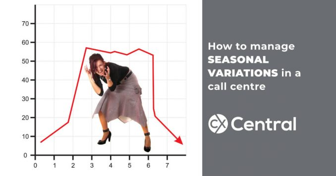 How to manage seasonal variations in a call centre