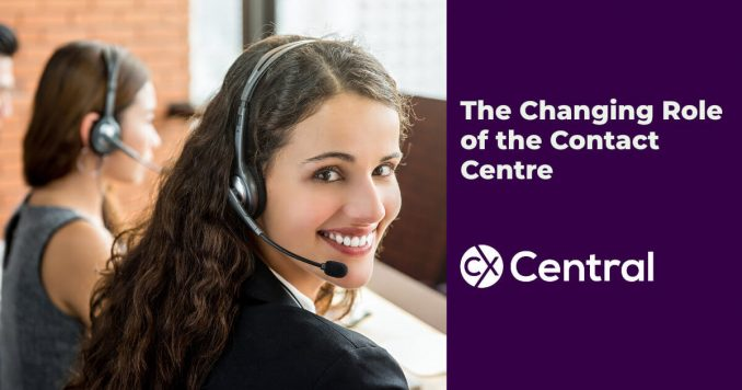 The change role of the contact centre