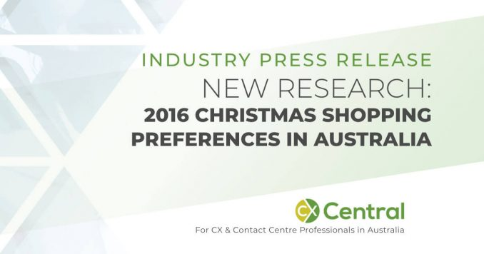 Australia's 2016 Christmas shopping preferences