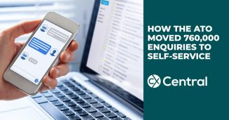 Using a virtual assistant to improve self-service