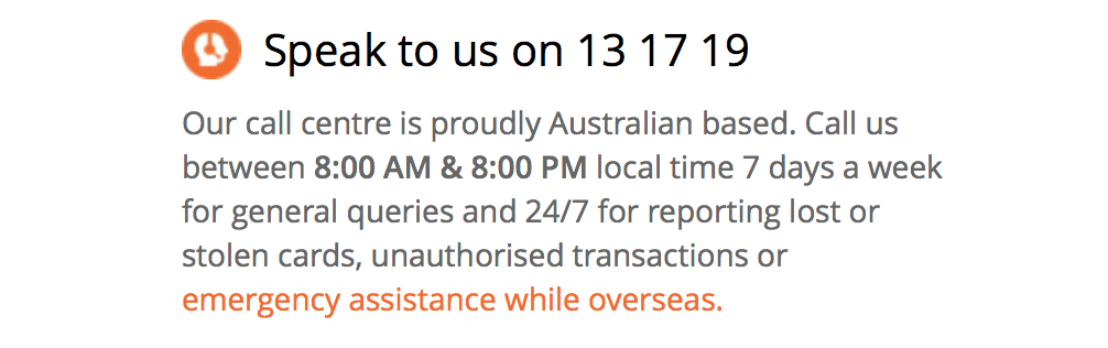 bankwest contact us page