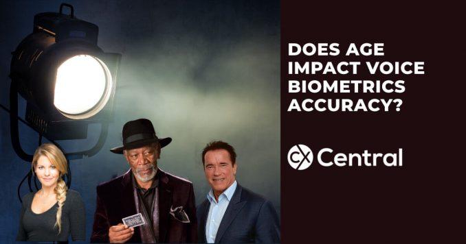 Does age impact voice biometrics accuracy