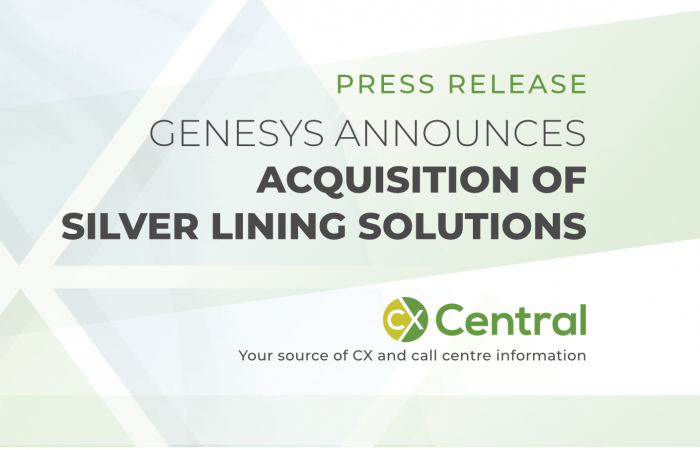 Genesys acquires Silver Lining Solutions