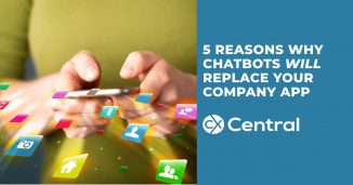 5 Reasons why chatbots will replace your company app