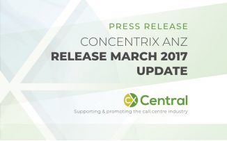 CONCENTRIX ANZ RELEASE MARCH 2017 UPDATE