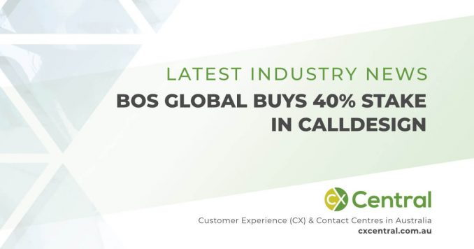 Call Design and BOS Global partnership