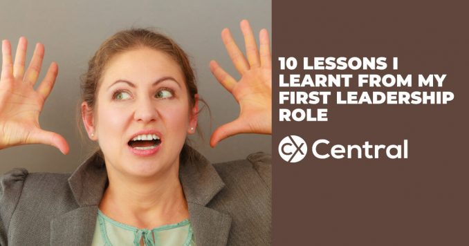 Lessons I learnt from my first leadership role