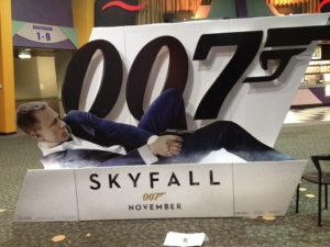 Skyfall display