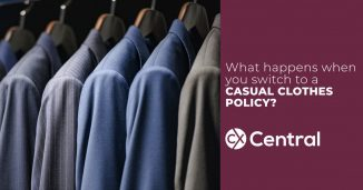 casual clothes policy
