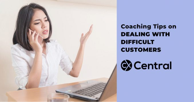 Training tips on dealing with difficult customers