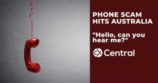 new phone scam in Australia
