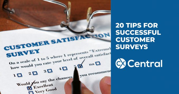 How to create customer surveys