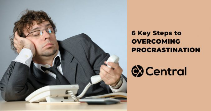 6 steps to overcome procrastination and improve your productivity