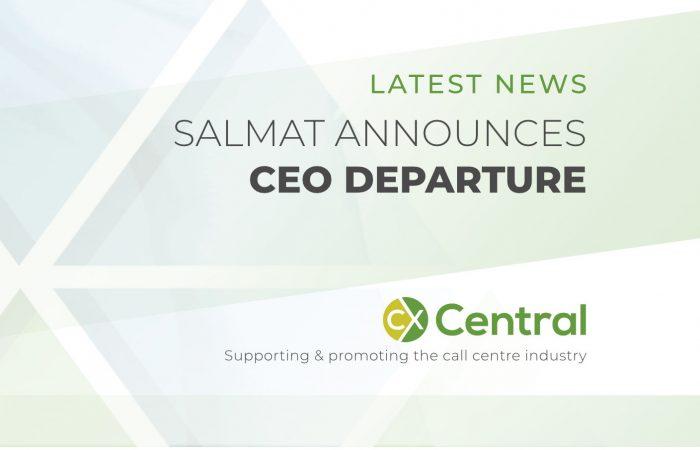 SALMAT ANNOUNCES CEO DEPARTURE