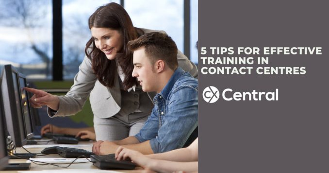 5 tips for effective training in contact centres