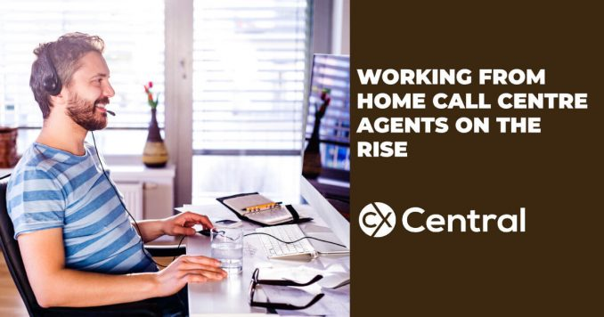 Call Centre agents working from home