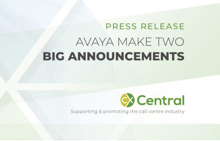 Avaya makes two big announcements
