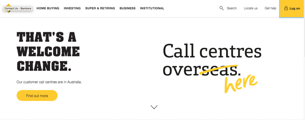 Commonwealth Bank call centre locations