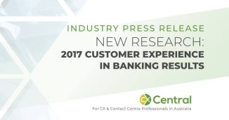 Customer Experience in Banking 2017 report