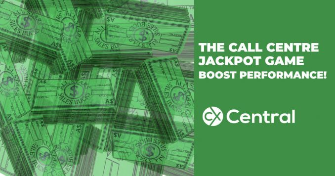 The call centre jackpot game to boost performance