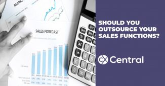 Why you should be outsourcing sales functions