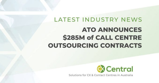 ATO announces call centre outsourcing contracts worth $285M