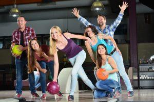 Tenpin Bowling team fun