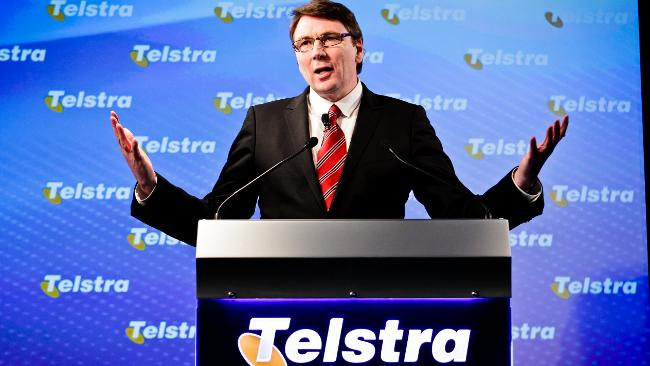 Telstra call centre staff in Perth have language problems according to their CEO David Thodey
