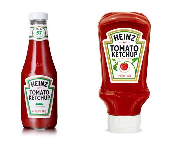 Heinz sauce bottle