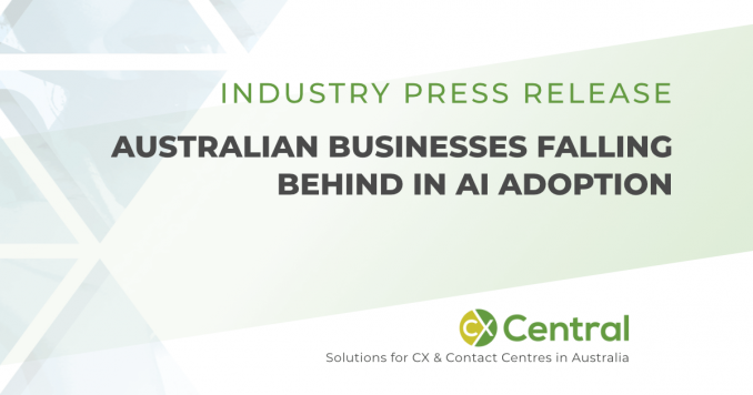 Australian businesses falling behind in AI adoption
