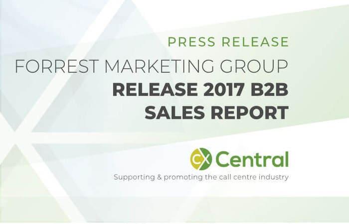 FMG release 2017 B2B Sales Report