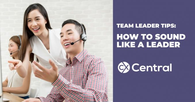 Teaching Team Leaders how to sound like a call centre leader