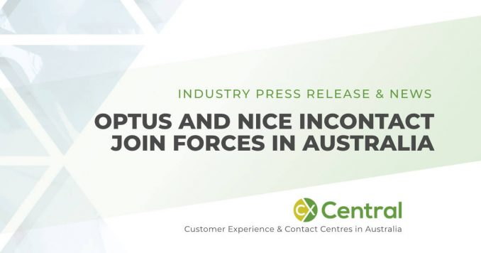 Optus signs partnership with NICE inContact contact centre solutions