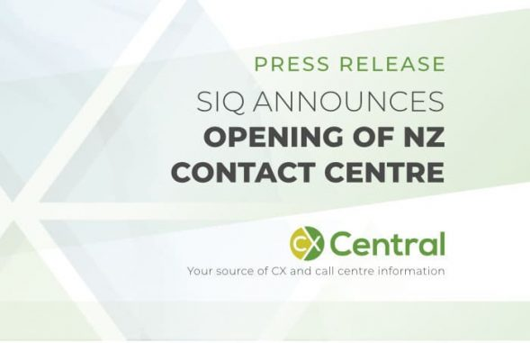 SIQ announces opening of NZ contact centre