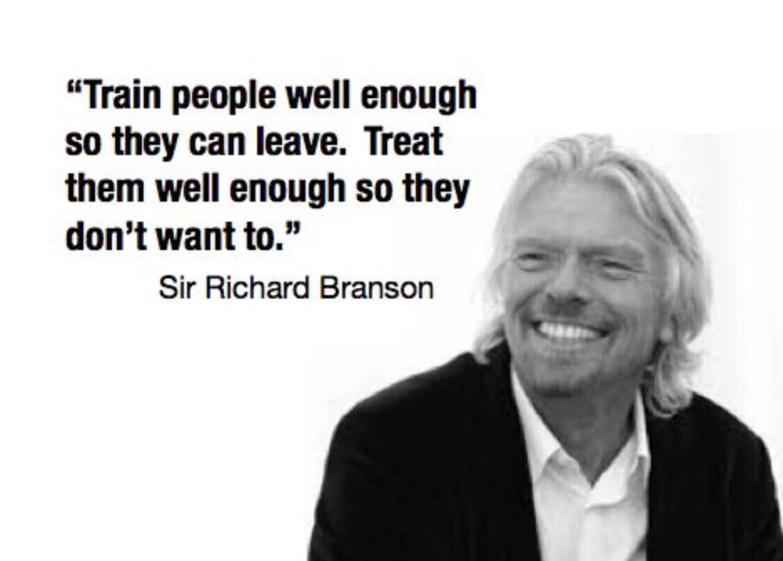 Sir Richard Branson leadership quote