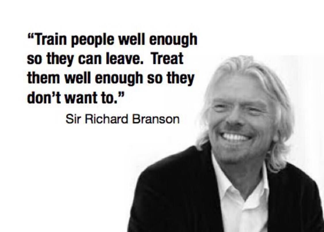 Sir Richard Branson leadership quote