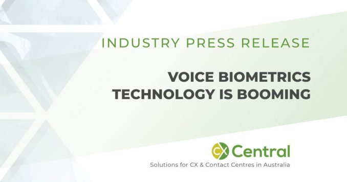 Voice Biometrics Technology is booming