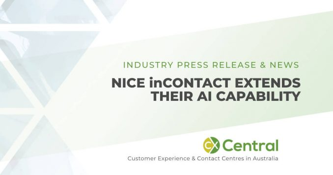 NICE inContact extends AI capability