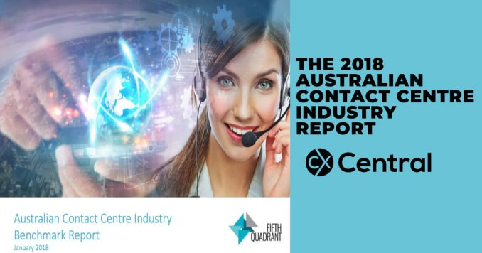 2018 Australian Contact Centre Industry Report