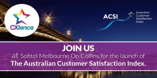 Australian Customer Satisfaction index Launch 500x250